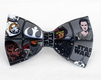 Star Wars Bow Tie | Boys Bow Tie | Dog Bow Tie | Mens Bow Tie | Self Tie | Pre-Tied | Groomsmen Bow Tie | For Him | Superhero Bow Tie