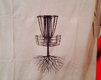 Rooted Disc Golf Basket