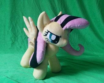 Emoshy (Fluttershy) Plush My little pony CUSTOM (MLP FiM) Handmade