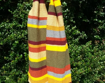 Dr Who scarf (fourth doctor)