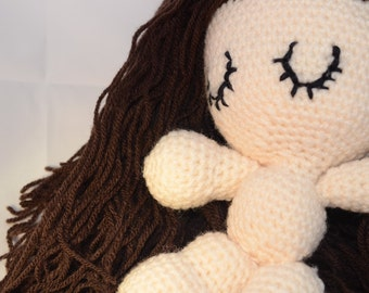 crochet kit - iddybiddy ME amigurumi fashion doll