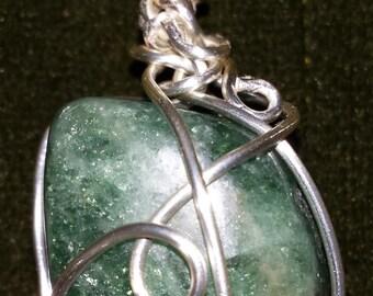 Apatite Custom Wrapped Pendant