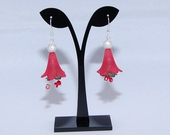 Christmas Bell Flower Earrings - LOWER PRICE