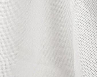 Off White Flax - Natural European Linen Fabric - Cross Stitch