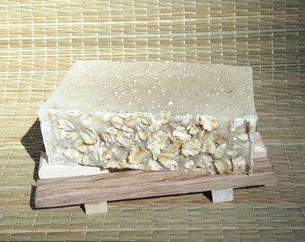 Oatmeal Soap, Handmade Soap, Natural Soap, Fragrance Free
