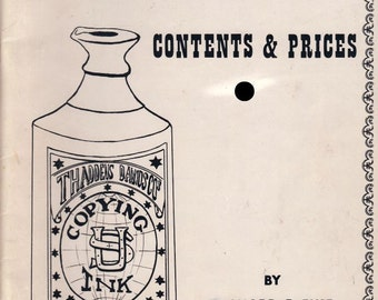 Guide to Old Bottles - Contents & Prices by Richard E. Fike 1966, Vintage Bottle Collecting and Pricing Guide