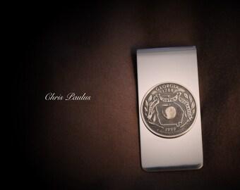 State Quarter Money Clip