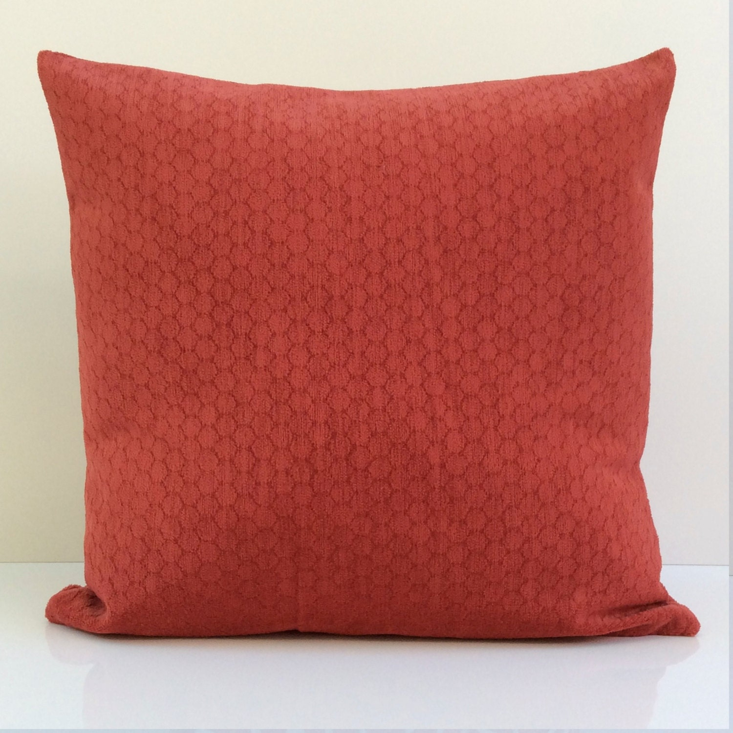 Orange Red Pillow Throw Pillow Cover Decorative Pillow