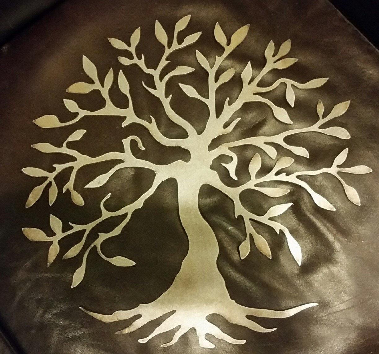 22 bare metal tree of life wall decor mantel decor home. Black Bedroom Furniture Sets. Home Design Ideas