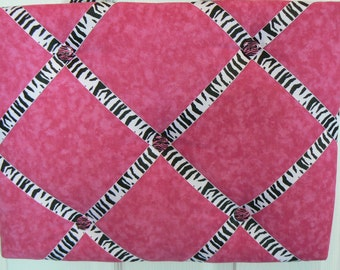 Pink With Zebra Memory Board