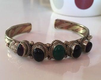 Hand made Tibetan multi colored stones
