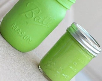 """Chalk Finish Paint in color """"Green Apple"""" 8oz"""