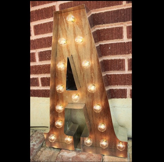 g marquee light up letters sign led battery operated plug in light bulb letters industrial