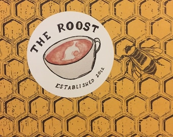 The Roost Sticker