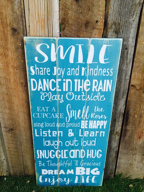 large wood sign home decor wood sign wooden sign