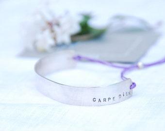 "50* Bracelet ""Carpe Diem"" - Sterling Silver 925"