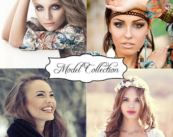 45 Retouching Photoshop Actions airbrushed photo retouching bundle