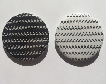 AAAAAAAAAA 45mm Badge