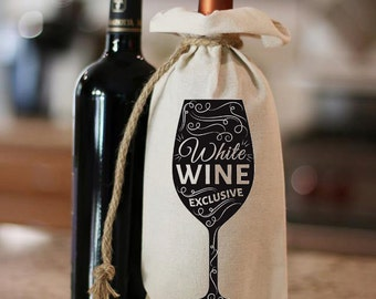White Wine Delicious,Wine Bag