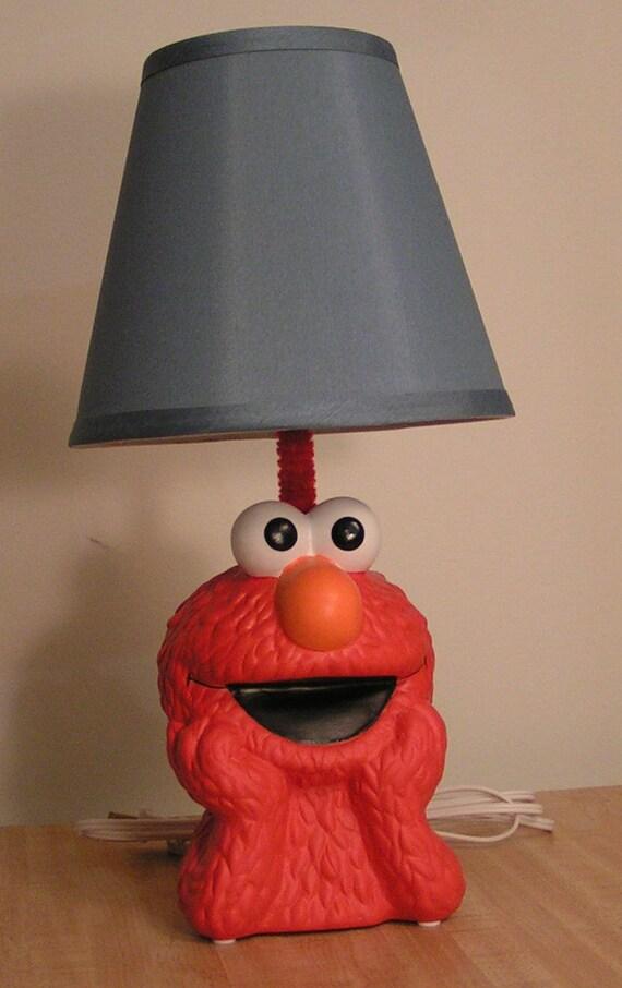 sesame street elmo bank lamp. Black Bedroom Furniture Sets. Home Design Ideas
