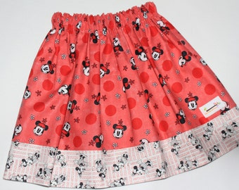 Reversible Skirt Minnie Mouse Size 5