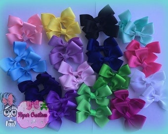 Pigtail bow sets