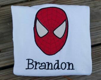 Spiderman Monogrammed Shirt