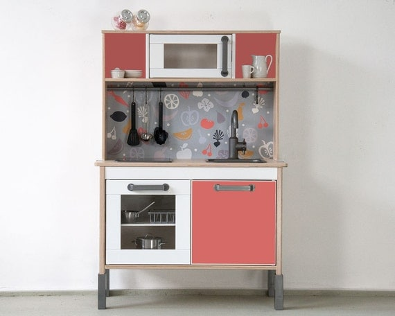 ikea hack pimp your ikea duktig play kitchen with by limmaland. Black Bedroom Furniture Sets. Home Design Ideas