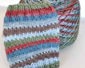 Hand Dyed Self Striping Yarn  - Lakeside