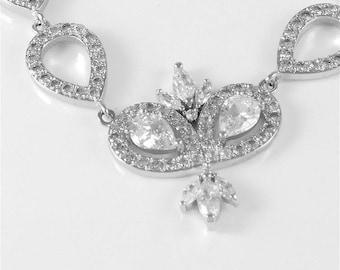 Princess Cubic Zirconia Bracelet
