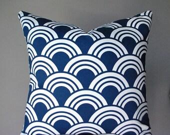 Navy blue pillow cover, pillow, decorative pillow, pillow cover 20 x 20, 18 x 18, 16 x 16, home decor, throw pillows, accent pillow, B3