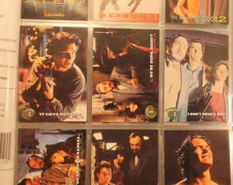 Sliders Season One Trading Cards Full Base Set (72) Plus Extras, Jerry O'Connell