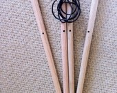 Set of poles for teepee tent