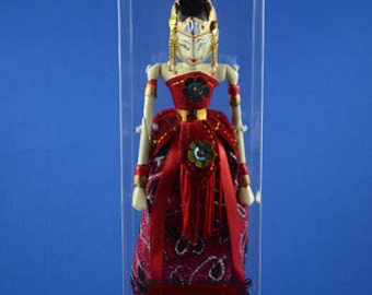 Shinta Indonesia Wayang Golek Rod Puppet Doll