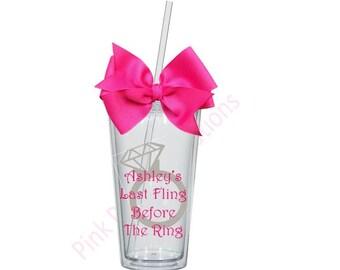 Bachelorette Tumbler, Bachelorette Gift, Bachelorette Party, Bachelorette Cup