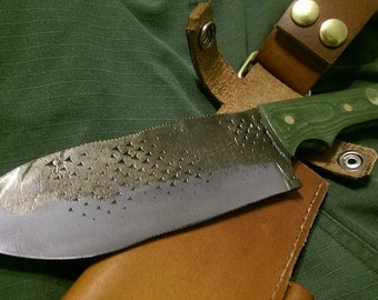 Hand Forged File Knife