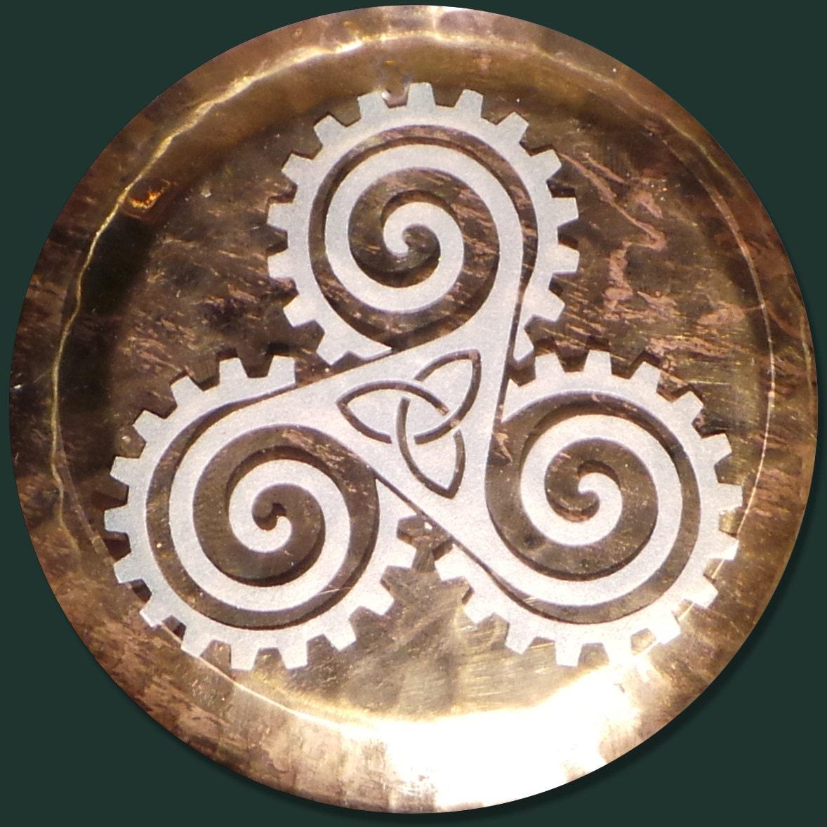 Celtic steampunk wedding