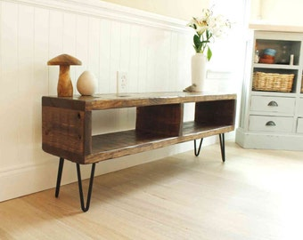 Reclaimed Wood Entertainment Center, Rustic TV Stand, Primitive, Modern TV Console, Mid Century, Industrial, Wood & Metal, Storage,Farmhouse