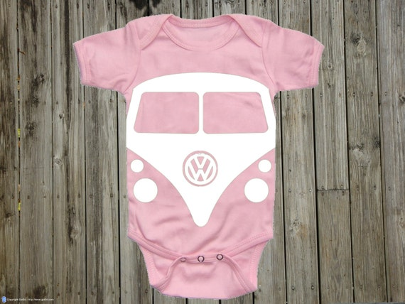 Baby gift volkswagen onepiece unisex baby clothes baby