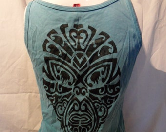 Top light blue Maori