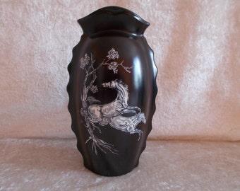 Epona, Rhiannon, Crown Devon Pegasus Vase
