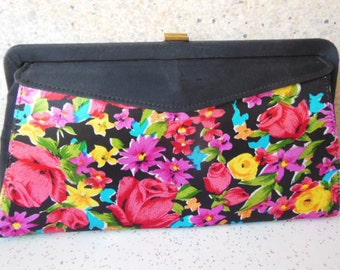 Vintage 1960's 5-way Convertible Hand Bag Purse Clutch