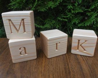 2 in 1 Wooden English alphabet blocks, Educational gift, Toy, Gift, ABC, ABC blocks, Wooden blocks