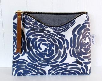 Large zipper pouch, naomi