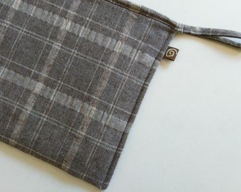 "Laptop Case, for 13"" MacBook/MacBook Pro/MacBook Air, Linen/Plaid/Padded."