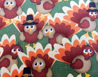 Thanksgiving bandana turkey reversible for pet dog and cat