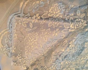Regency Gown, Custom Lace Jane Austen Dress