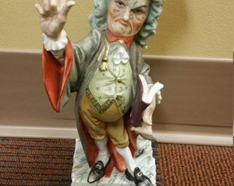 1940 porcelain Judge Figurine