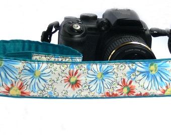 Flowers Camera Strap. Daisies Camera Strap. Canon Nikon Others Camera Strap. Photo Camera Accessories