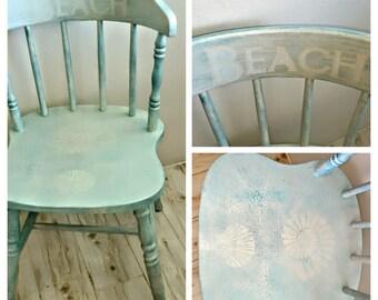 Beach Shabby Chic Chair